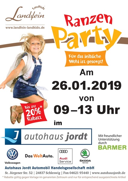 Autohaus Jordt Ranzen Party Vw Volkswagen Schleswig