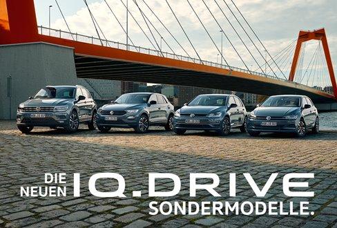 IQ DRIVE Volkswagen Sondermodelle Guenstig 24837 Schleswig Autohaus Jordt