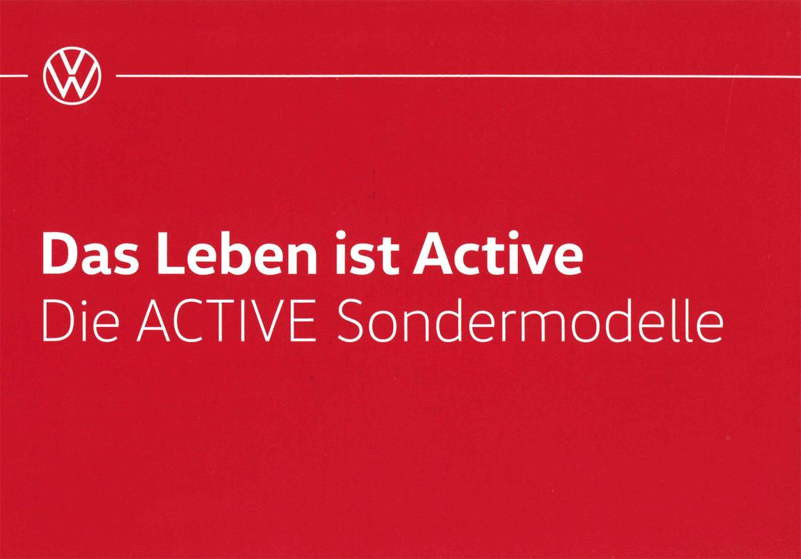 Sondermodelle Active